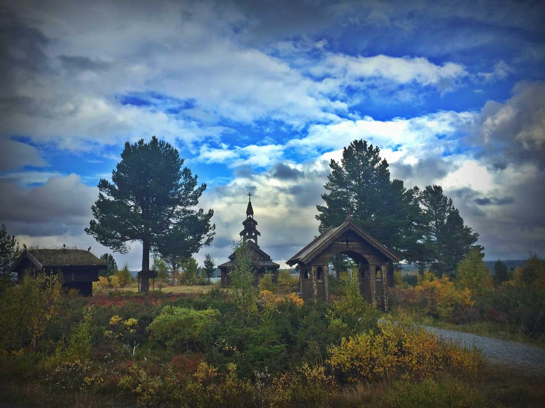Oset fjellkirke, fjellkapell, bryllup, Golsfjellet, Hallingdal, Valdres. Foto: Thorgeir Røer