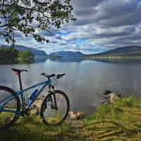 Sykling, fjellsykling, familiesykling, mjølkevegen, Valdres, Hallingdal, Hemsedal, Golsfjellet. Foto: Thorgeir Røer