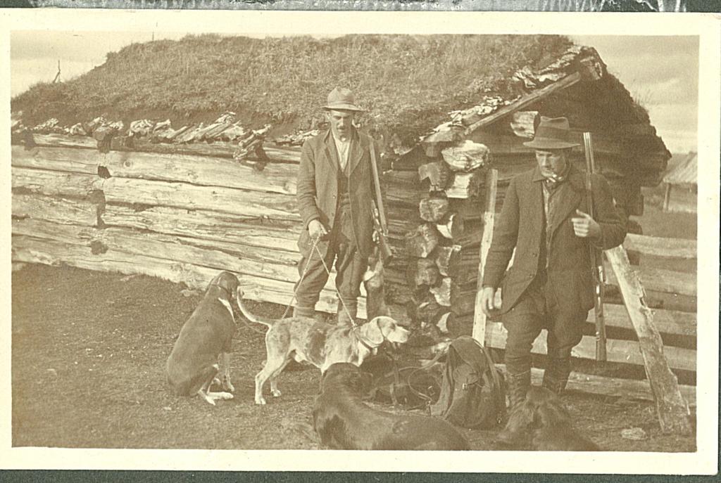 Jakt på Rekkjeset i 1920.
