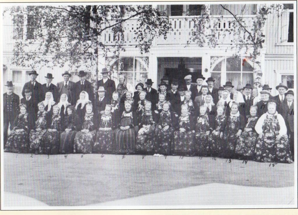 Utflukt til Valdres ca 1935.