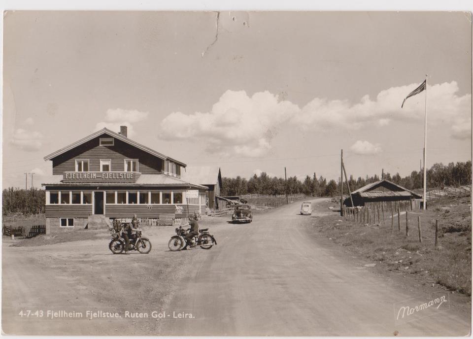 Fjellheim på 1950-tallet.