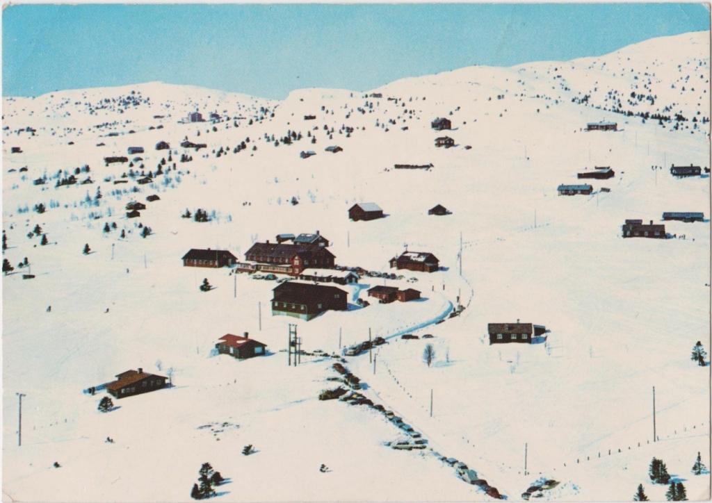 Kamben Høyfjellshotell ca 1970, Golsfjellet i Hallingdal.