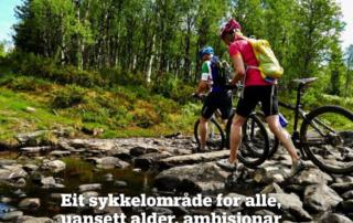 Golsfjellet, midt melllom Hallingdal, Hemsedal og Valdres er et eldorado for alle med sykkel.