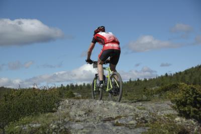 Golsfjellet et av landets beste områder for fjellsykling, sykling, terrengsykling. Gol, Hemsedal, Valdres, Hallingdal. Foto Thorgeir Røer