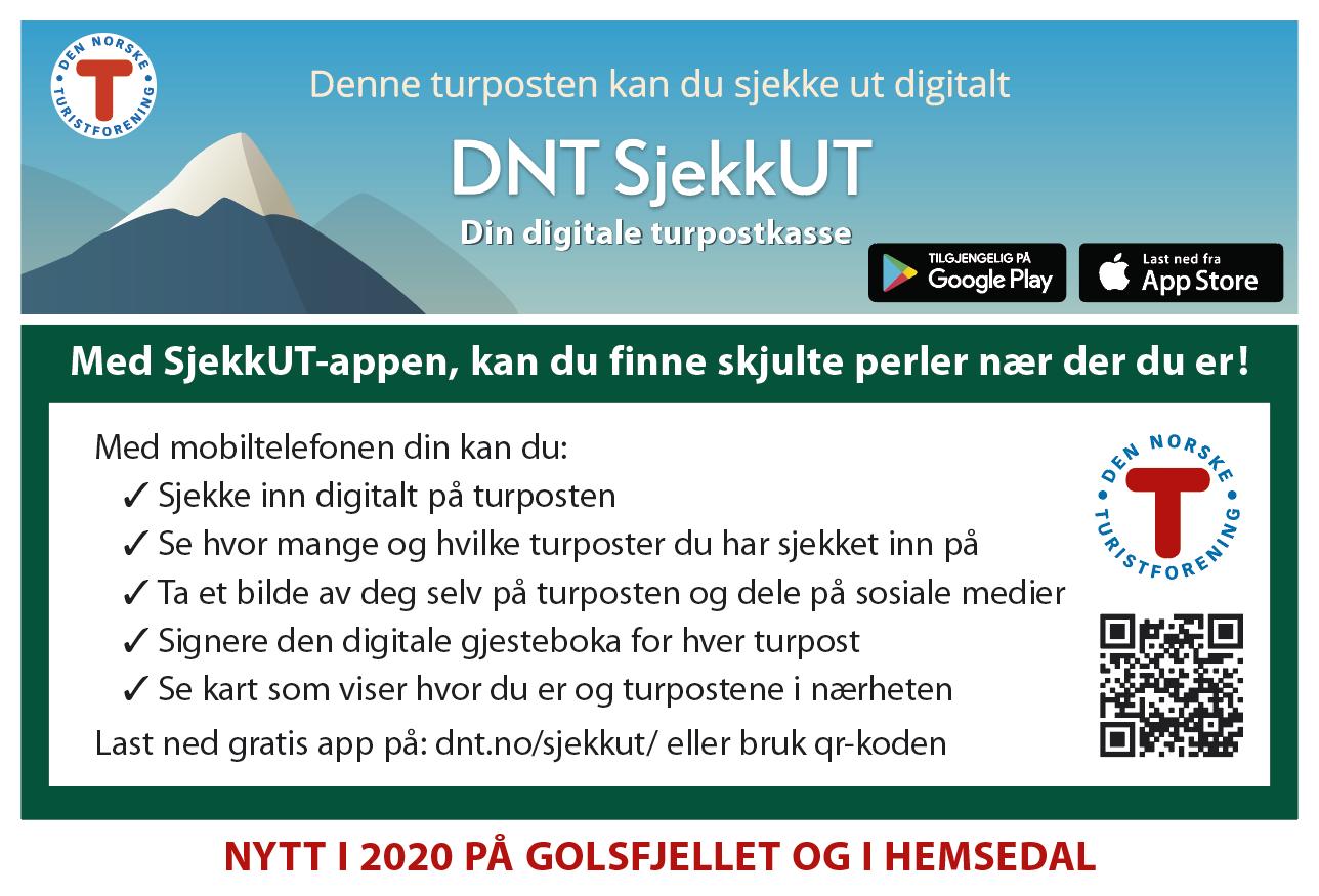 DNT SjekkUT, Golsfjellet, Hemsedal, Hallingdal