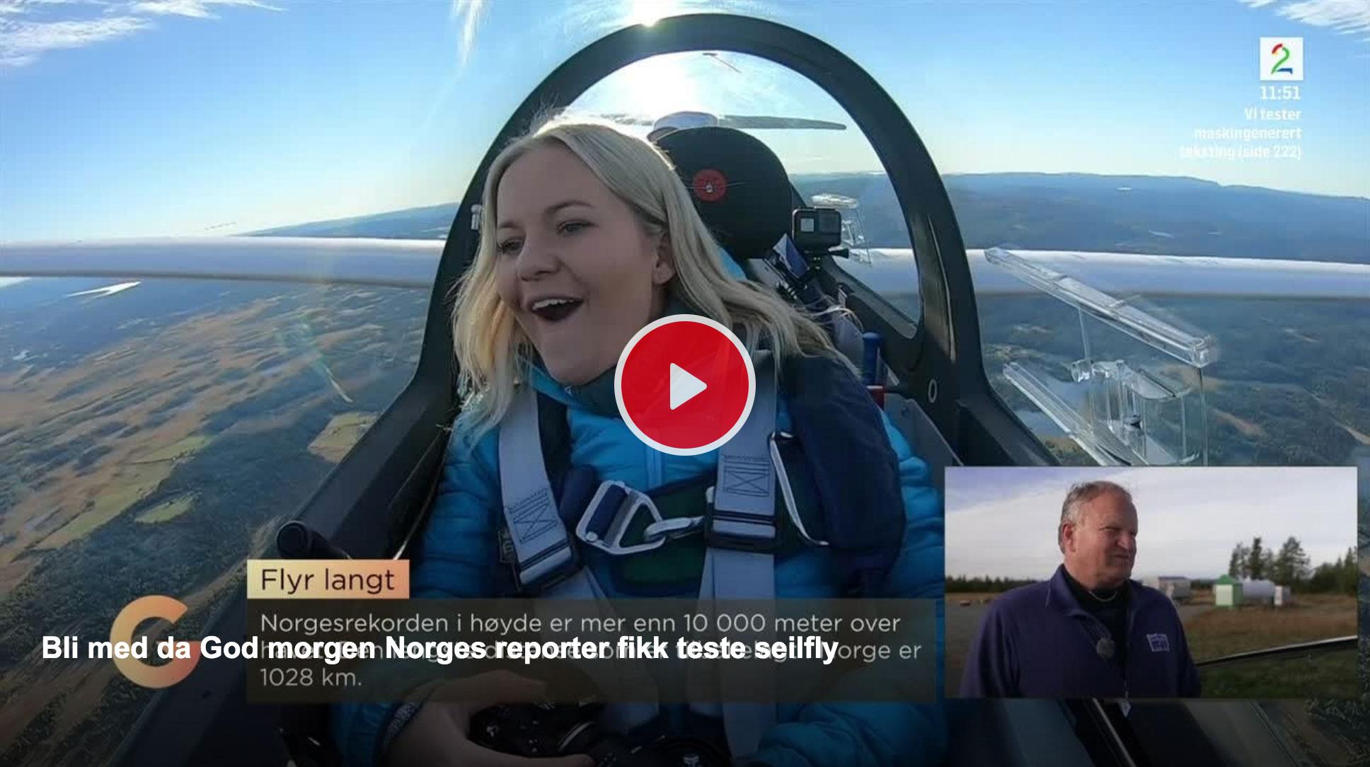 God morgen Norge – TV2 – fikk oppleve Golsfjellet fra lufta!