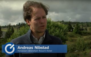 Andreas Nibstad, Storefjell, TV Øst