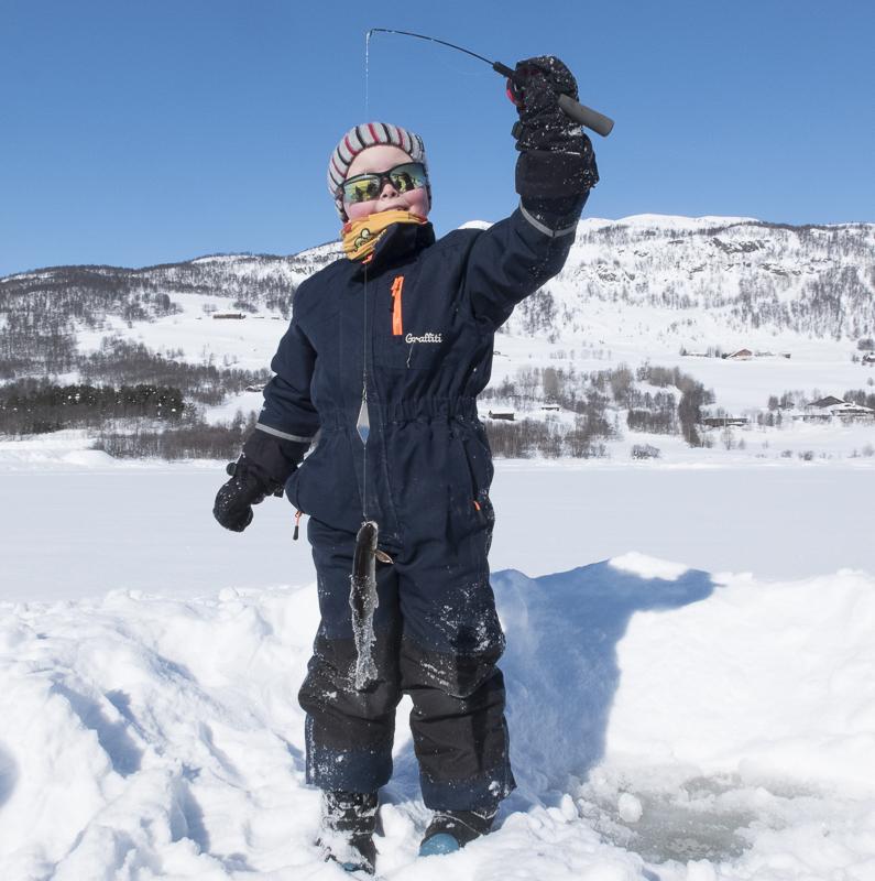 Isfisking, pilking, Golsfjellet, Gol, Hallingdal, Valdres