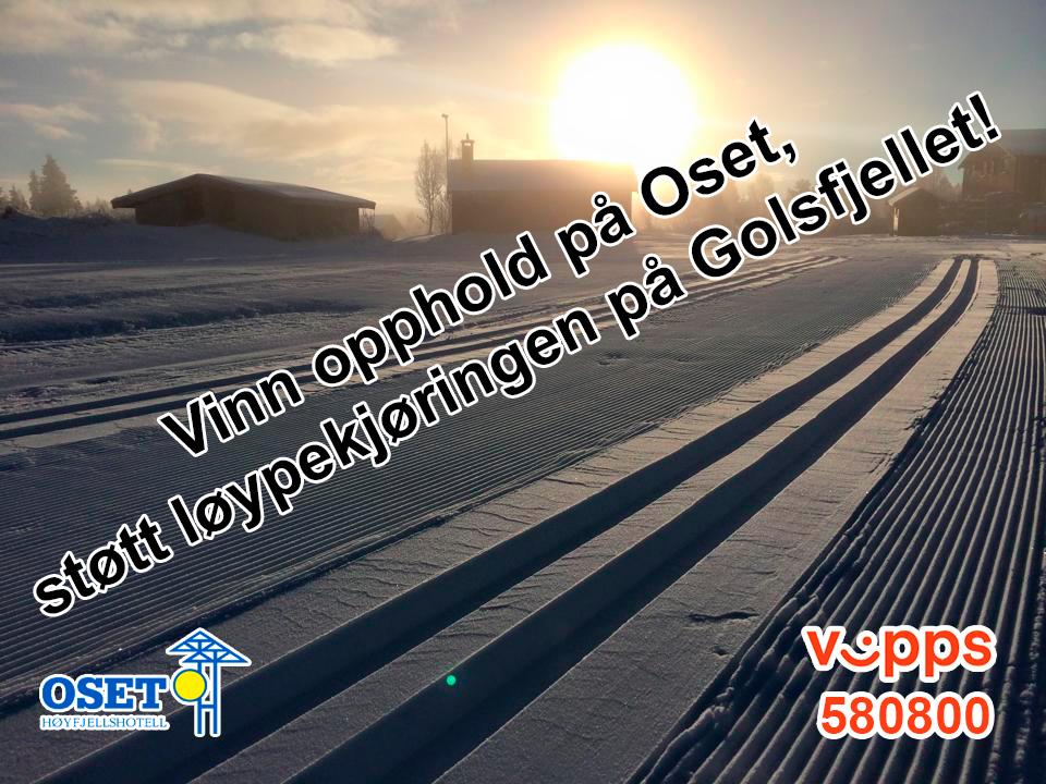 Braksuksess for Oset Høyfjellshotells løypelotteri!