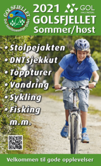 Sommerkart Golsfjellet, Gol, Hallingdal, Valdres, Hemsedal.