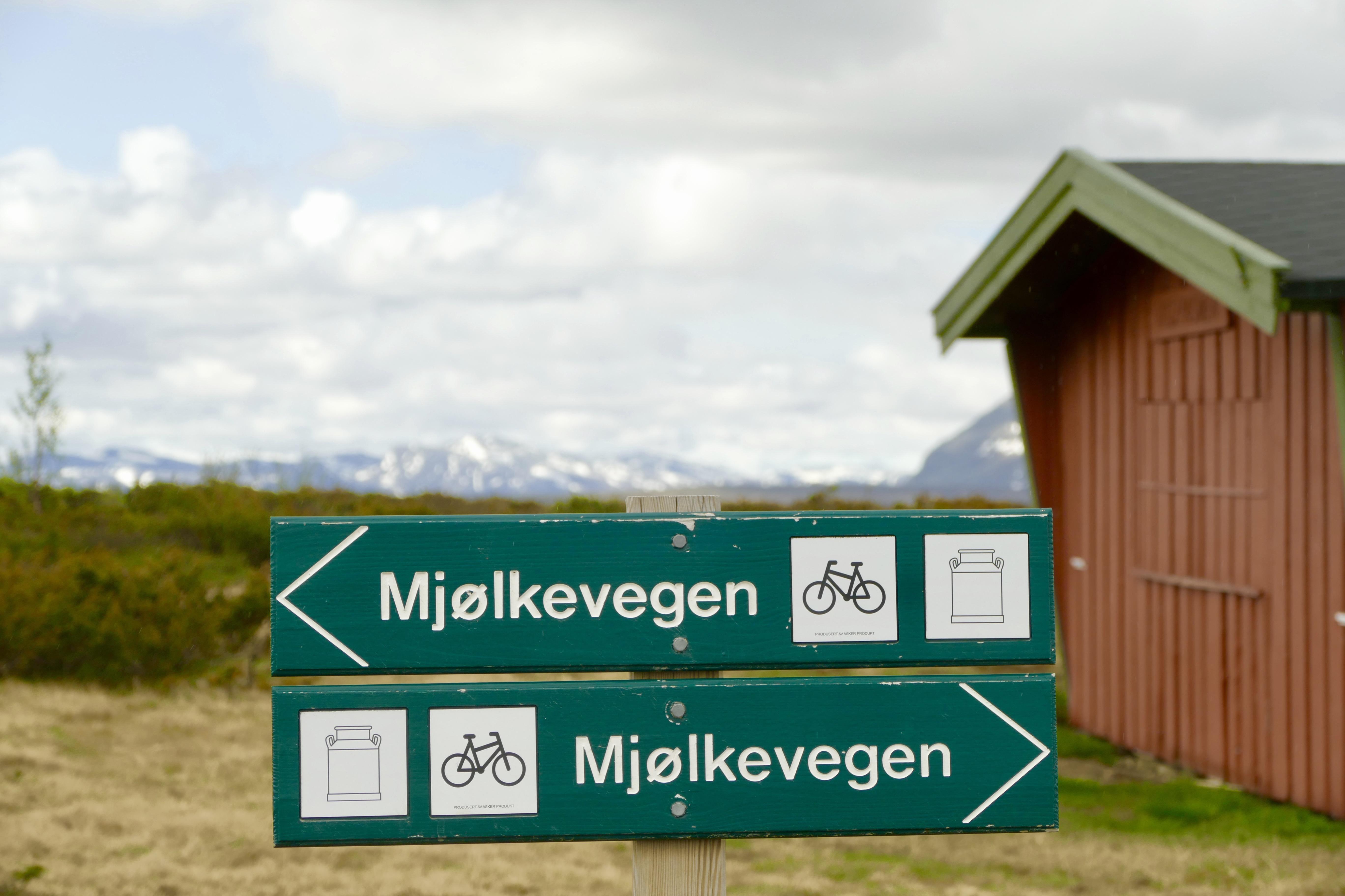 Guidede sykkelferier langs Mjølkevegen