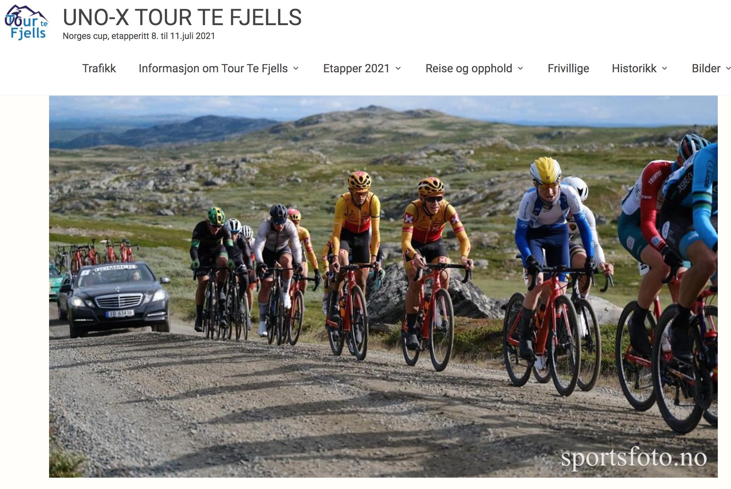 UnoX Tour Te Fjell 2021 – et sykkeleventyr på Golsfjellet!